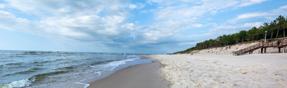 Pogorzelica - widok na plażę