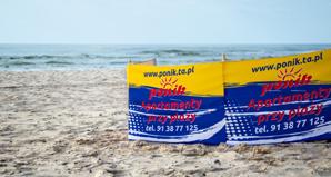 Ponik - szeroka piaszczysta plaża